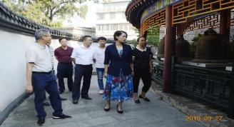 市文化和旅游局邹红英局长来我馆调研和指导工