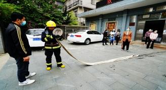 贺州市消防救援支队到我馆组织消防演练并开展消防安全培训
