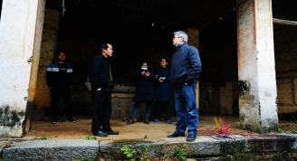 贺州市望高镇罗古村青龙庙发现民国期间人物壁画