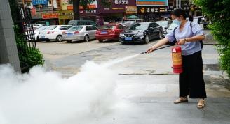 贺州市博物馆开展消防应急疏散和灭火演练