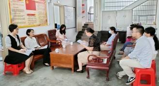 市文旅局党组书记、局长邹红英 到我馆调研党史学习教育开展情况